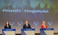 Press conference by Jyrki Katainen, Vice-President of the EC, and Elżbieta Bieńkowska, Member of the EC, on the communications on Single Market and Investment Plan