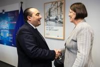 Visite de Hichem Ben Ahmed, ministre tunisien du Transport, à la CE