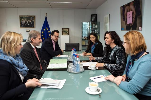 Visit of Natalia-Elena Intotero, Romanian Minister for Romanians Abroad, to the EC