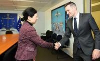 Visit of Rasmus Jarlov, Danish Minister for Industry, Business and Financial Affairs, to the EC