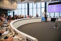 Panel citoyen européen - accueil au Centre des visiteurs