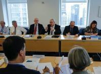 Visite de Neven Mimica, membre de la CE, et Karmenu Vella, membre de la CE, aux Etats Unis