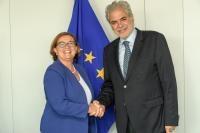 Visit of Ana Paula Zacarias, Portuguese Secretary of State for European Affairs, to the EC