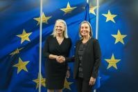 Visit of Virginia Rometty, CEO of IBM, to the EC