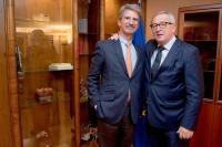 Jean-Claude Juncker, President of the EC, receives Mr José Ignacio Salafranca, Member of the European Parliament
