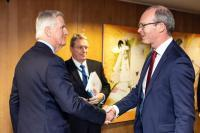 Visit of Simon Coveney, Irish Deputy Prime Minister (Tánaiste), to the EC