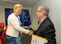 Visit of Eva Kjer Hansen , Danish Minister for Fisheries, Equal Opportunities and Nordic Cooperation, to the EC.