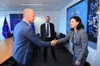 Visit of Vladimir Petera, Deputy Executive Director of the Czech National Cyber and Information Security Agency (NCISA), to the EC