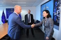 Visite de Vladimir Petera, directeur exécutif adjoint de l'Agence nationale tchèque de la sécurité informatique et de la cybersécurité (NCISA), à la CE