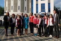Visite de Corina Cretu, membre de la CE en Roumanie