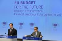 Press conference by Jyrki Katainen, Vice-President of the EC, and Carlos Moedas, Member of the EC, on the 2012-2027 European Research and Innovation programmes