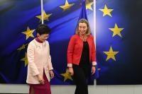 Visite de Carrie Lam Cheng Yuet-ngor, cheffe de l'exécutif de Hong Kong, à la CE