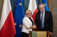 Visit by Christos Stylianides, Member of the EC, to Poland