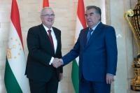 Visite de Neven Mimica, membre de la CE, au Tadjikistan