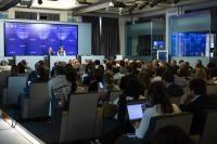 Participation de Cecilia Malmström, membre de la CE, à un événement sur les relations commerciales transatlantiques organisé par le German Marshall Fund of the United States