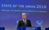 Press conference by Dimitris Avramopoulos, Member of the EC, on new measures for stronger EU borders and solidarity on migration