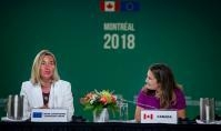 Visit by Federica Mogherini, Vice-President of the EC, to Canada