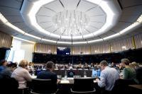 Réunion hebdomadaire de la Commission Juncker (23/10/2018)