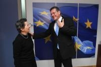 Visit of Christiana Figueres, Vice-Chair of the Board of the Global Covenant of Mayors for Climate and Energy, to the EC