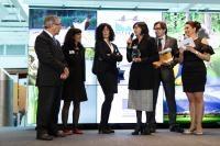Participation de Karmenu Vella, membre de la CE, à la cérémonie du prix européen Natura 2000