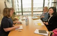 Visit of Evelyne Paradis, Executive Director of ILGA-Europe (International Lesbian and Gay Association), to the EC