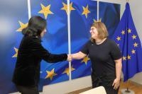 Visit of Evelyne Paradis, Executive Director of ILGA-Europe (International Lesbian and Gay Association), to the EC
