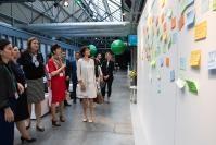 Participation de Marianne Thyssen, membre de la CE, au Festival européen de validation