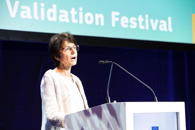 Participation of Marianne Thyssen, Member of the EC, at the European Validation Festival