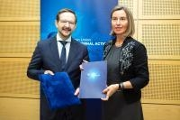 Participation of Federica Mogherini, Vice-President of the EC, at the high level event 'Climate, Security and Peace: the Time for Action'