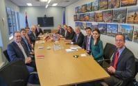 Visite de Cecilia Malmström, membre de la CE, en Nouvelle Zélande