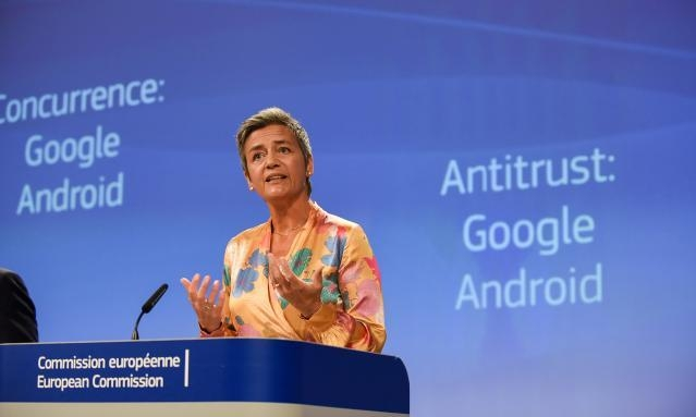 Press conference of Margrethe Vestager, Member of the EC