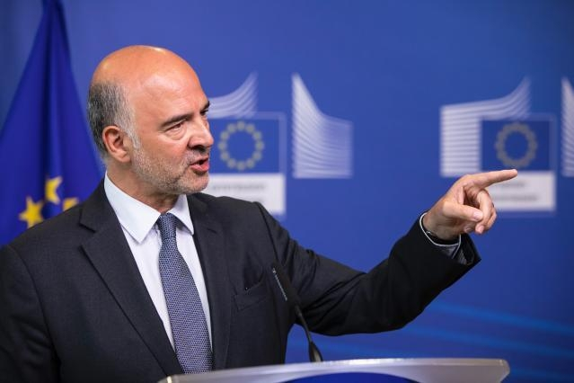 Press conference by Pierre Moscovici, Member of the EC, on the Conclusion of the stability support programme for Greece