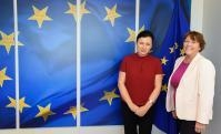 Visit of Andrea Jelinek, Chairwoman of the Article 29 Data Protection Working Party, to the EC