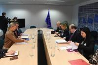 Visit of Herrera Campo, President of the autonomous government of Castile-Leon, to the EC