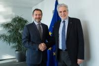Visit of Toby Lanzer, UN Deputy Special Representative Assistance Mission in Afghanistan (UNAMA), to the EC