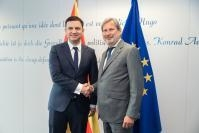 Visit of Bujar Osmani, Deputy Prime Minister in charge of European Affairs of North Macedonia, to the EC