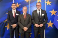 Visite des représentants de WWF à la CE