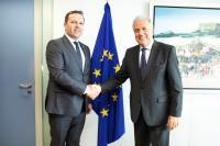 Visit of Oliver Spasovski, Minister for the Interior of the former Yugoslav Republic of Macedonia, to the EC