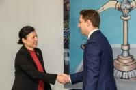 Visit of Victor Negrescu, Romanian Minister of State for European Affairs, to the EC
