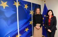 Visite de Kajsa Ollongren, vice-Première ministre hollandaise et ministre de l'Intérieur et des Relations au sein du Royaume, à la CE