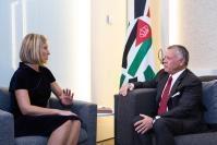 Visit of Abdullah II, King of Jordan