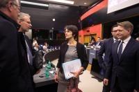 Visite de Marianne Thyssen, membre de la CE, en France