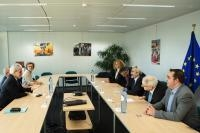 Visit of Agostino Miozzo, Director of the Italian Civil Protection Department, to the EC