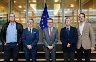 Visit of Coimbra University delegation to the EC