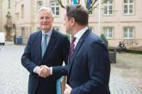 Visit of Michel Barnier, Chief Negotiator for Article 50 Negotiations with the United Kingdom, to Luxembourg