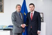 Visit of Gent Cakaj, Acting Albanian Minister for Europe and Foreign Affairs, to the EC