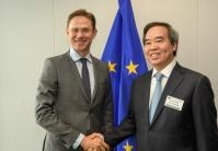 Visit of Nguyên Văn Bình, Member of the Politburo and Chairman of Economic Commission of Vietnam Communist Party, to the EC