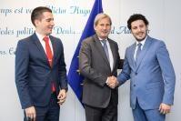 Visite des membres du Parlement du Monténégro à la CE