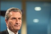 Press conference by Günther Oettinger, Member of the EC, on the European Commission's note on a modern budget, ahead of the European Council of 28-29/06/2018