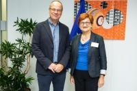 Visit of Danica Purg, President of the Bled School of Management of CEEMAN, to the EC